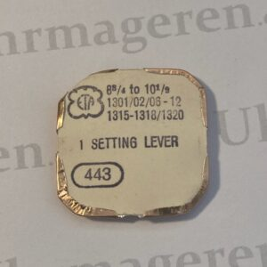 ETA Cal. 1301 part 443.