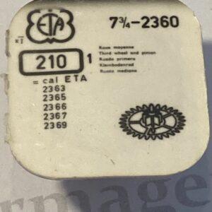 ETA Cal. 2360 part 210.