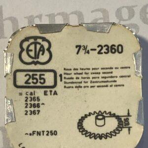 ETA Cal. 2360 part 255.
