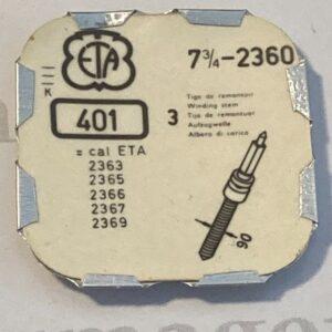 ETA Cal. 2360 part 401.