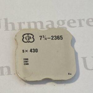 ETA Cal. 2365 part 430.