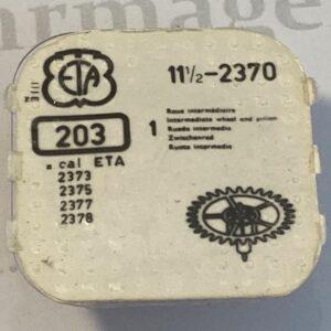 ETA Cal. 2370 part 203.