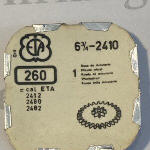 ETA Cal. 2410 part 260.