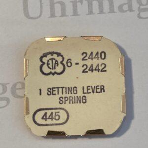 ETA Cal. 2440 part 445.