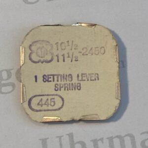 ETA Cal. 2450 part 445.